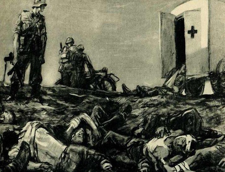 Шмаринов Дементий. Добили раненных.
