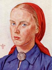 Willrich Wolfgang. Женщины в униформе.
