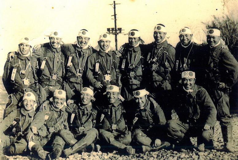 Эскадрильи пилотов-камикадзе. 1944 г.