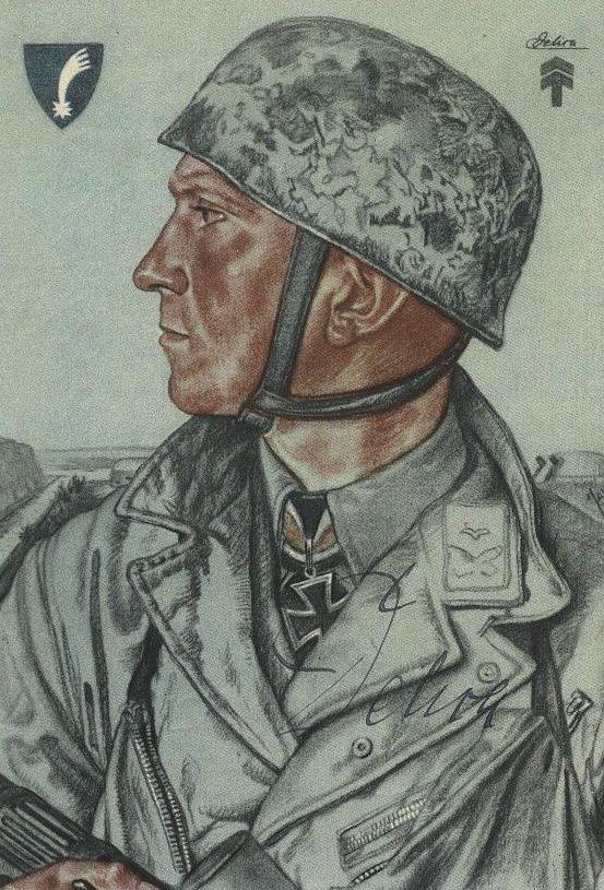 Willrich Wolfgang. Оберлейтенант Delica.