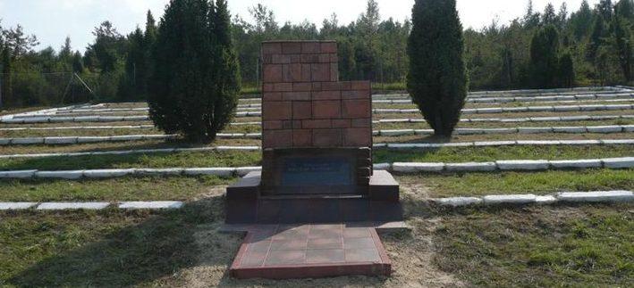 д. Жмудзь Хелмский повят. Воинское кладбище, где похоронено 1 000 советских воинов.