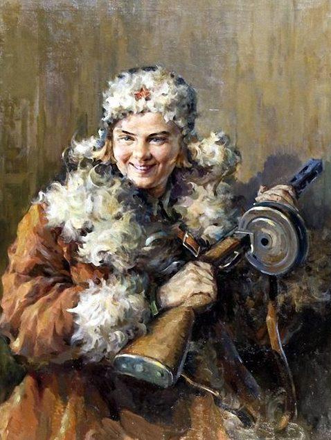 Марышев Александр. Партизанка.