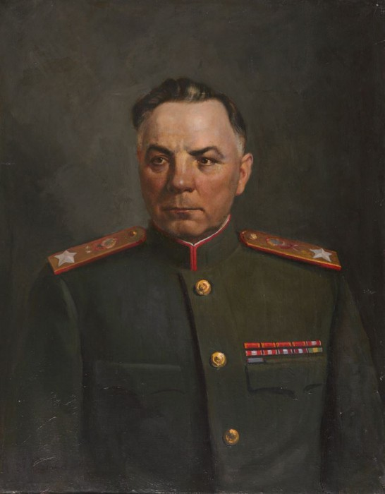 Соловьёв Александр. Портрет маршала К.Е. Ворошилова.