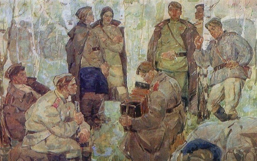 Ушаков Сергей. Песня солдатская.