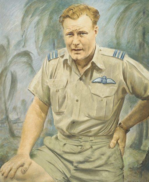Cook Alfred. Командующий эскадрильей Keith Truscott.