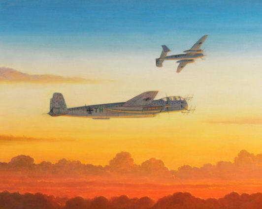 Calow Robert. Ночной истребитель He-219A.