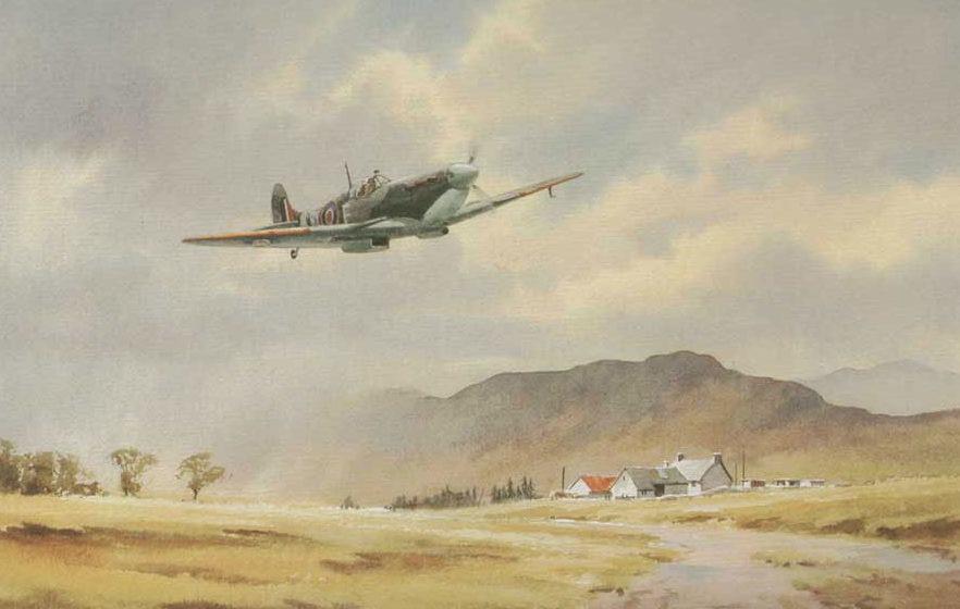Pannett Denis. Истребитель Spitfire Mk.V.