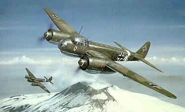 Wyllie Iain. Бомбардировщик Ju-88.