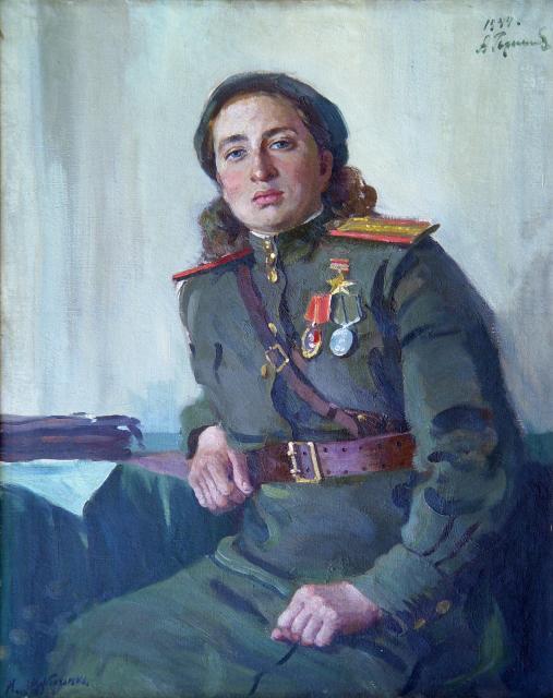 Герасимов Александр. Портрет М. Щербаченко.
