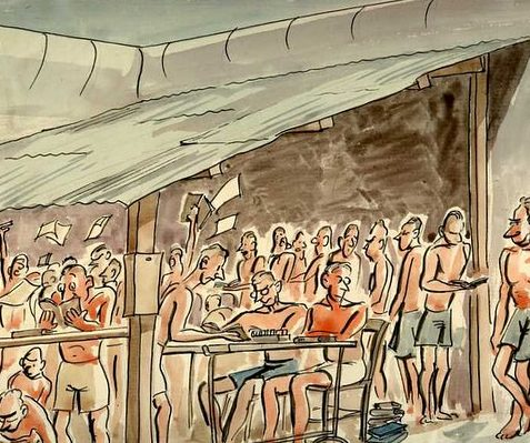 Bettany Desmond. Лагерь военнопленных Changi.