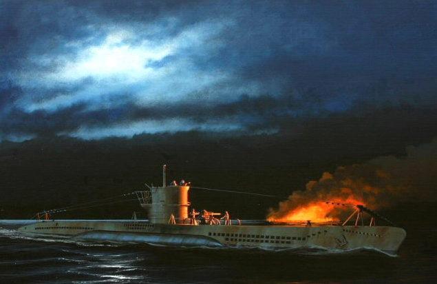 Berryman Ivan. Подлодка U-99.