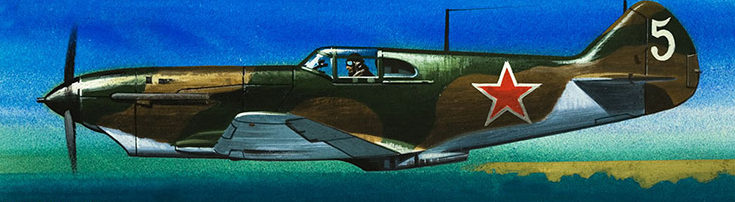 Hardy Wilf. Истребитель Ла-5.