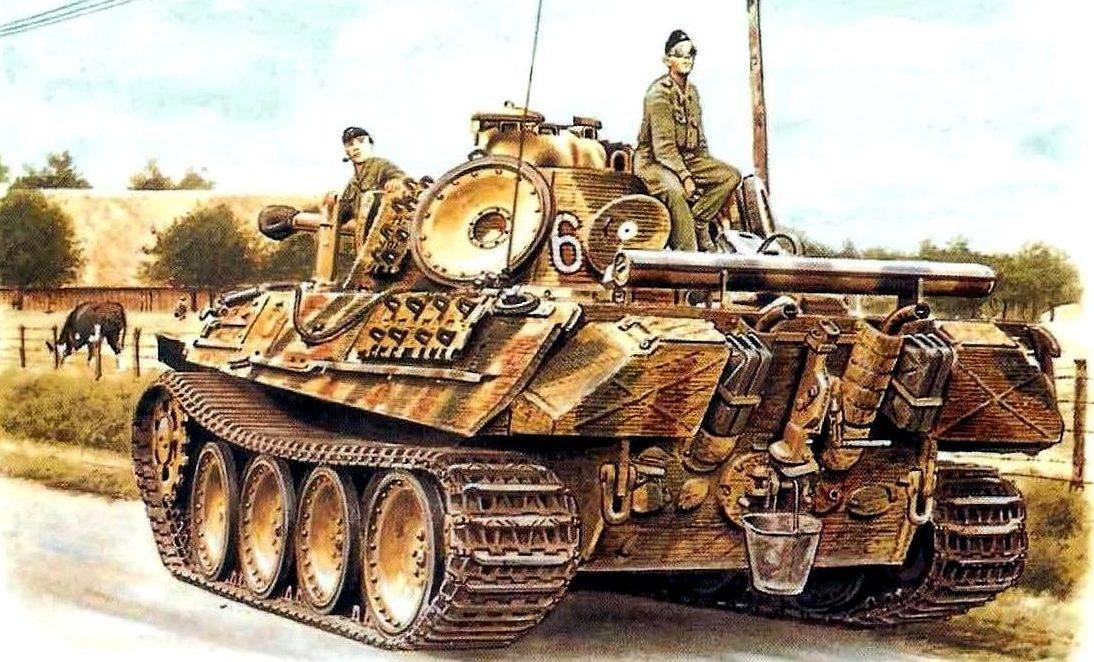 Smith David. Танк Panther Ausf. G.