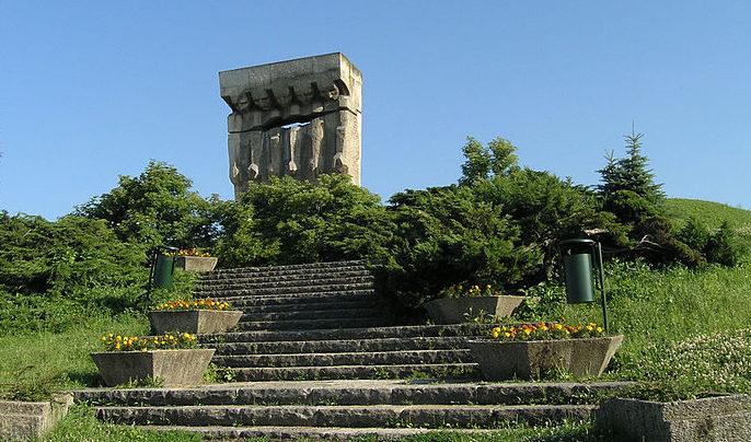 Мемориал жертвам нацизма.