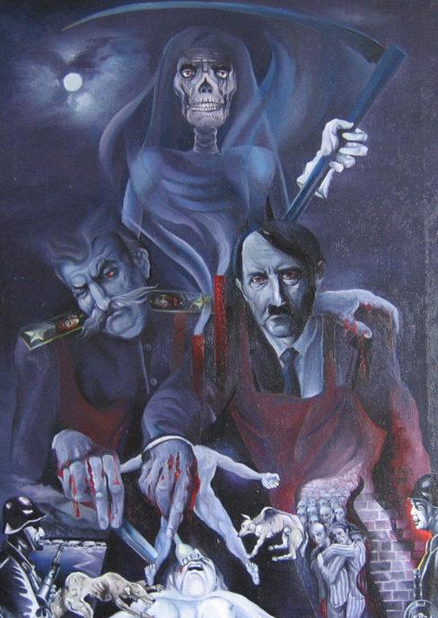 Клейнер Илья. Два вампира.