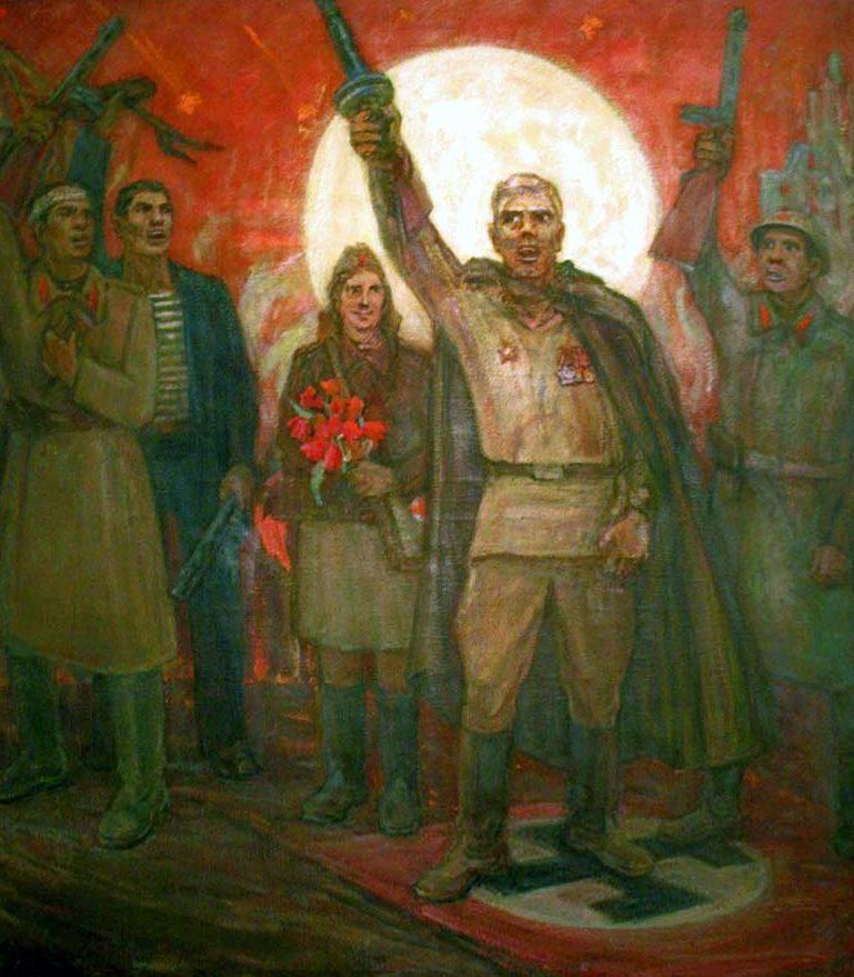 Махуков Александр. Победа.
