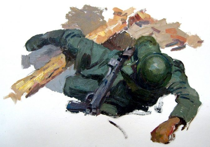 Овечкин Николай. Война.
