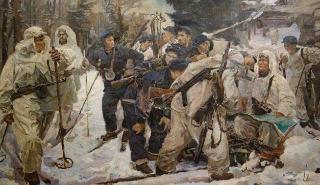 Серебряный Иосиф. Партизанский отряд.