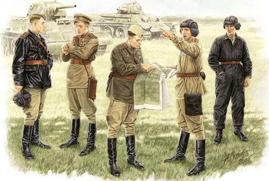 Каращук Андрей. Советские офицеры.