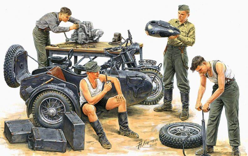 Каращук Андрей. Немецкий Африканский корпус.