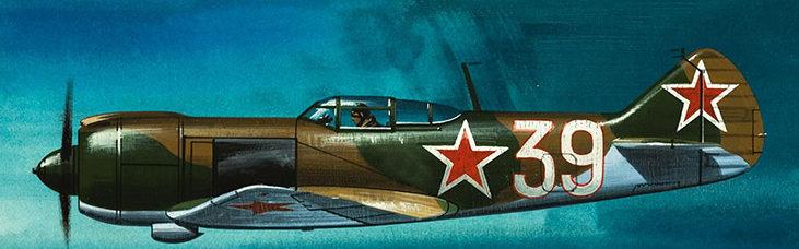Hardy Wilf. Истребитель Ла-5ФН.