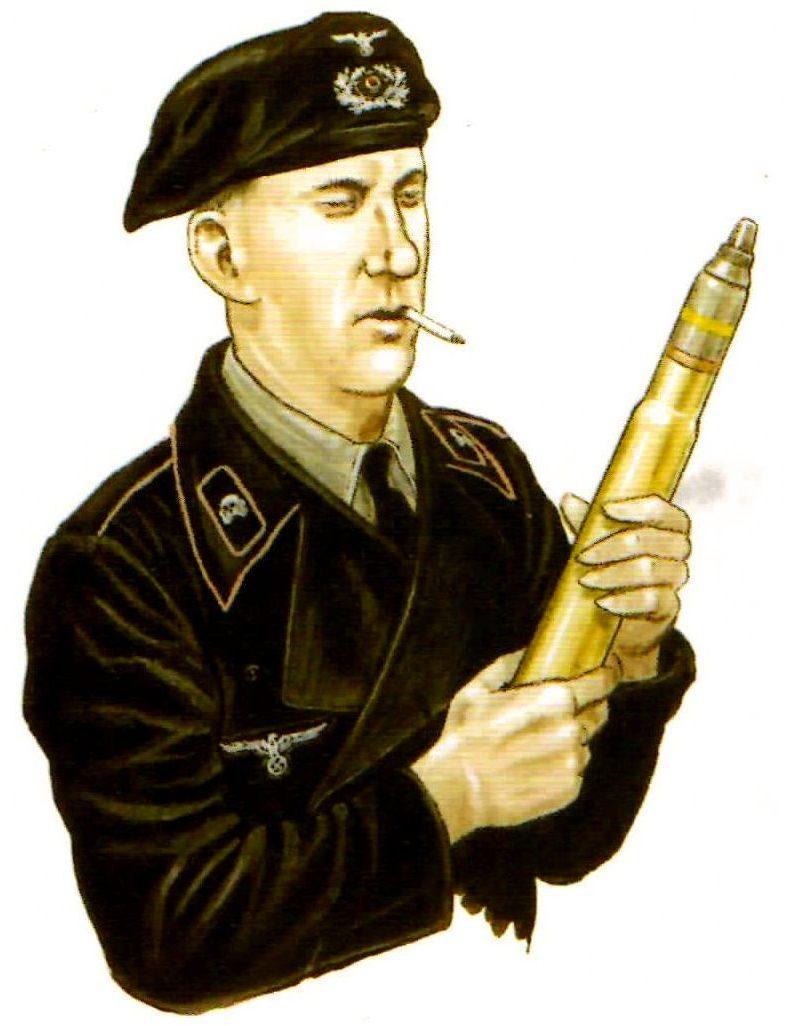 Smith David. Немецкие танкисты.