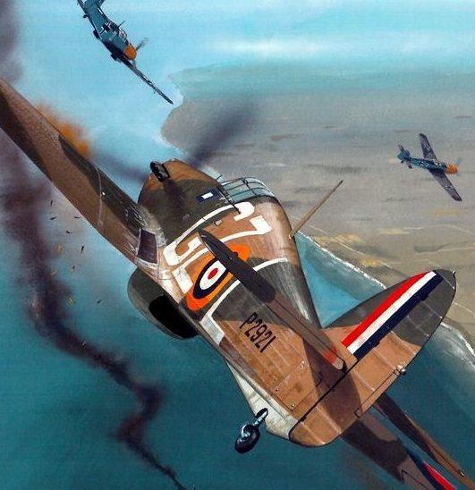 Wyllie Iain. Истребитель Hawker Hurricane Mk.I.