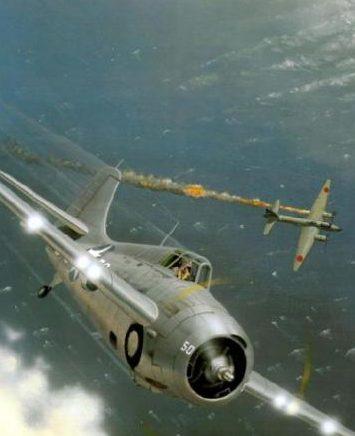 Wyllie Iain. Истребитель Grumman F-4F-4 Wildcat.