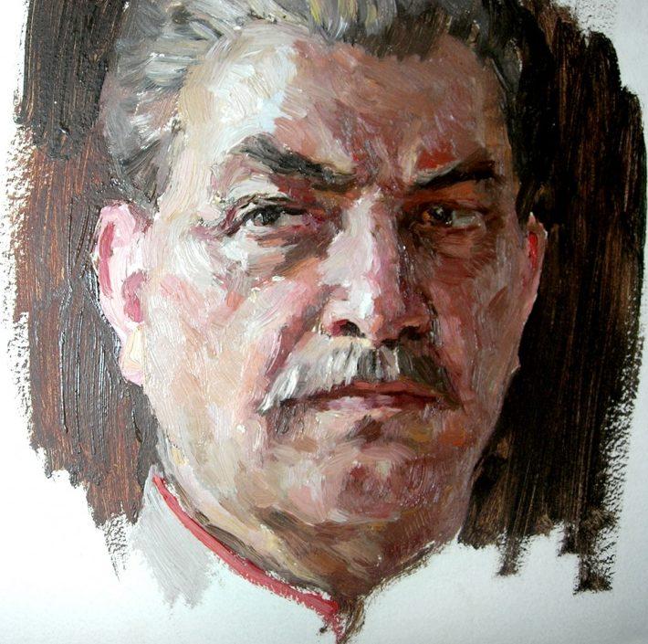 Овечкин Николай. Портрет Сталина.
