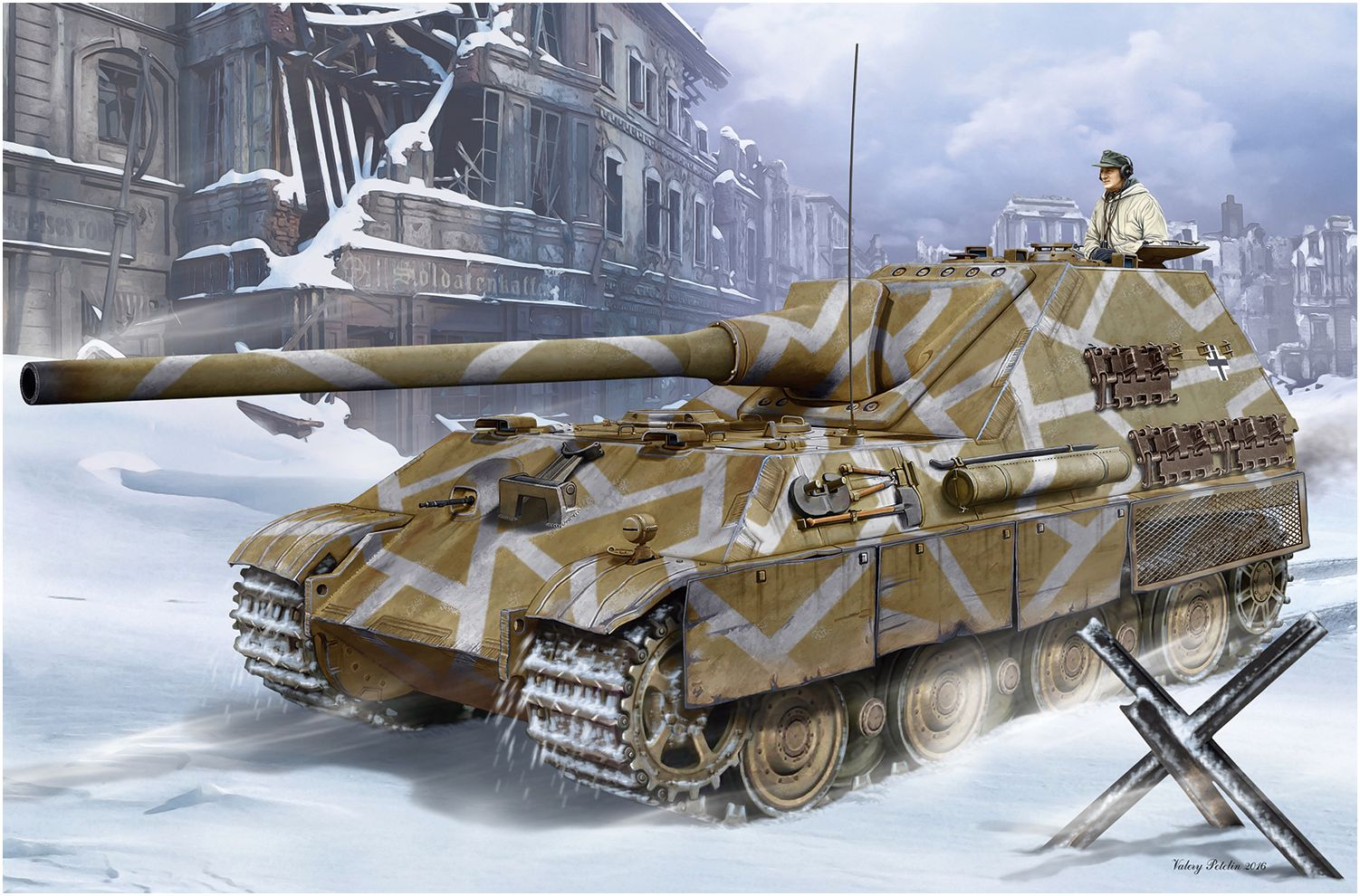 Петелин Валерий. САУ Jagdpanther II.
