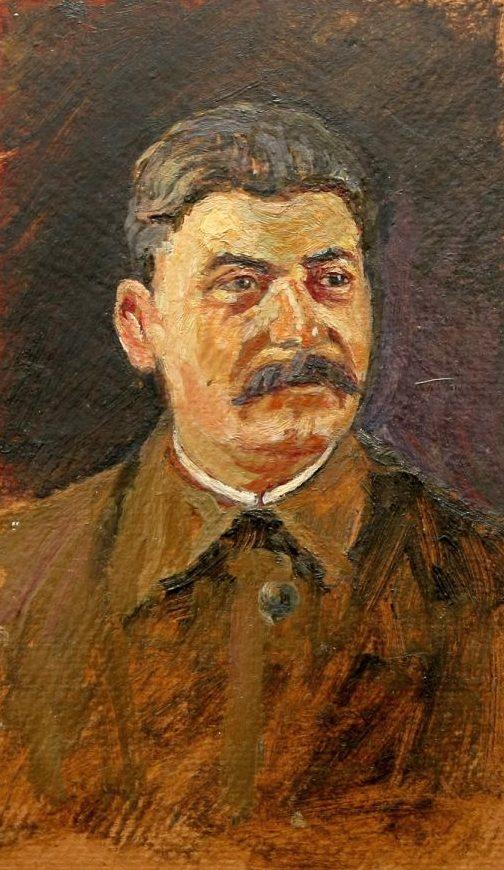 Петровичева Нина. Портрет Сталина.
