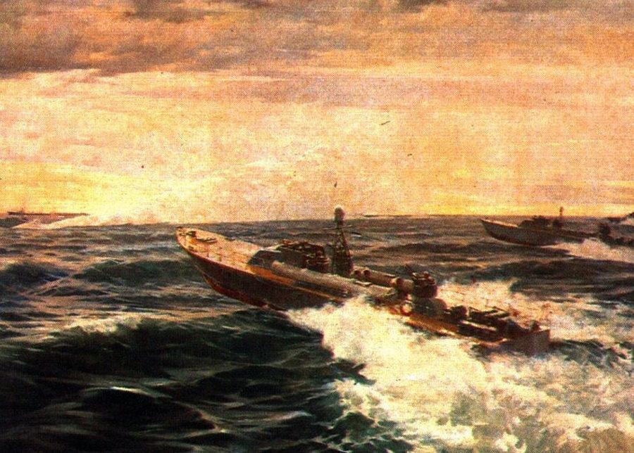 Саморезов Виктор. Торпедные катера.