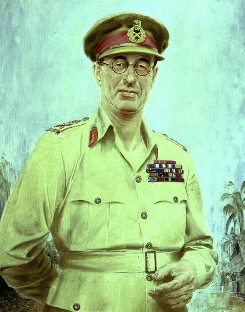 Cook Alfred. Генерал-лейтенант Stanley Savige.