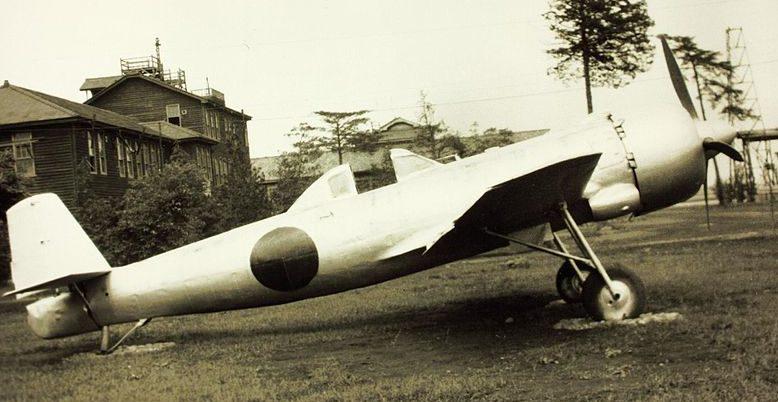 Специальный самолет-камиказде Накадзима Ки-115. 1945 г.