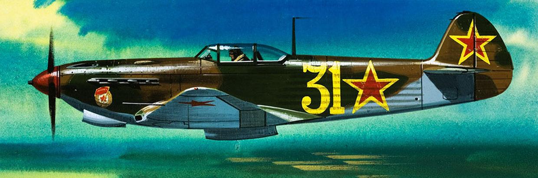 Hardy Wilf. Истребитель Як-9Д.