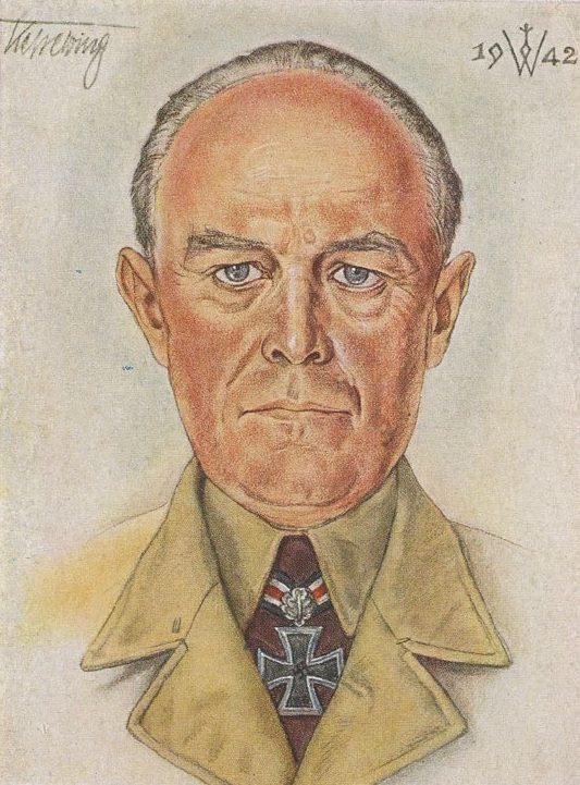Willrich Wolfgang. Генерал-фельдмаршал Albert Kesselring.