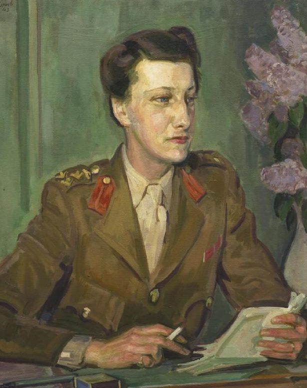 Lamb Henry. Военнослужащая Violet Lucy Whateley.
