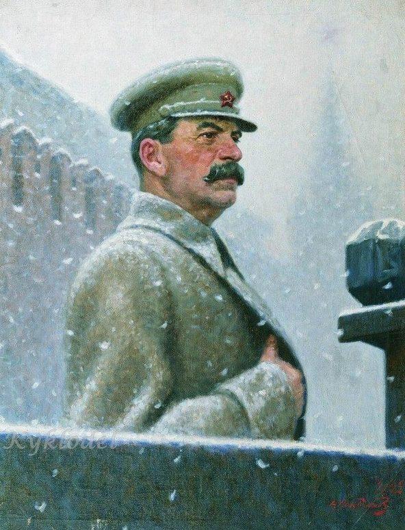 Лактионов Александр. Сталин И.В.