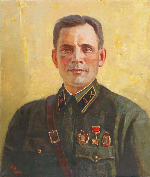 Войнов Константин. Портрет Лазарева И.