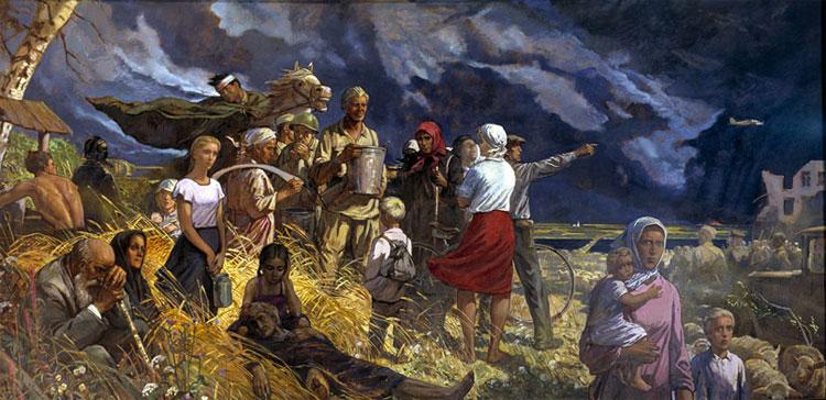 Глазунов И. Дорогами войны.
