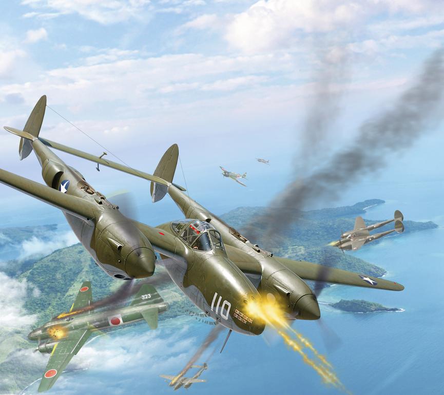 Медведь Александр. Истребитель P-38 Lightning.