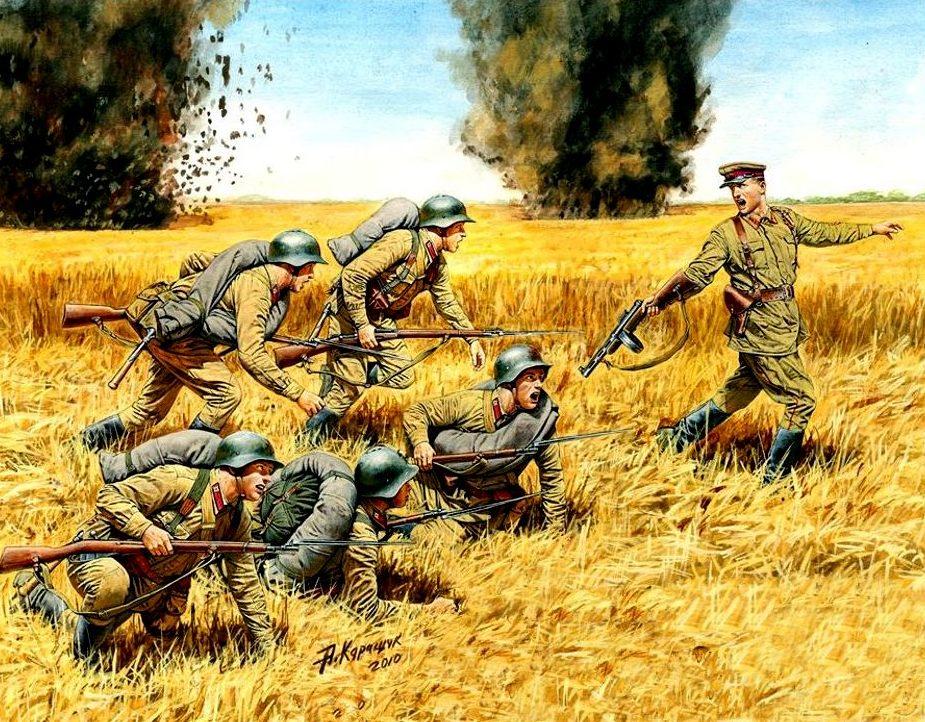 Каращук Андрей. Советская пехота.