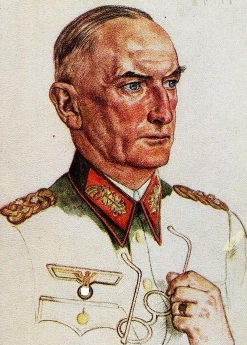 Willrich Wolfgang. Генерал-фельдмаршал Erwin von Witzleben.