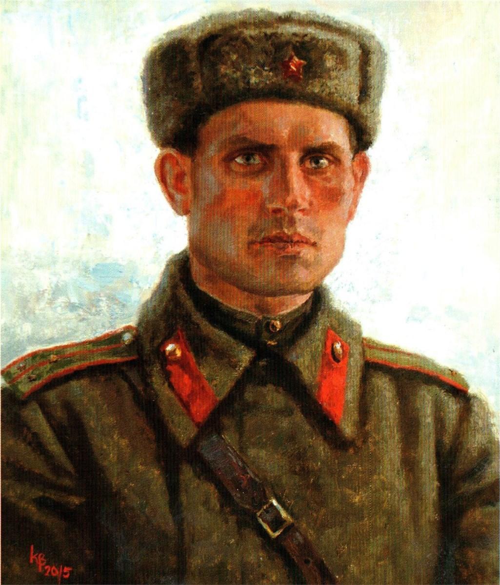 Войнов Константин. Портрет Забобонова И.