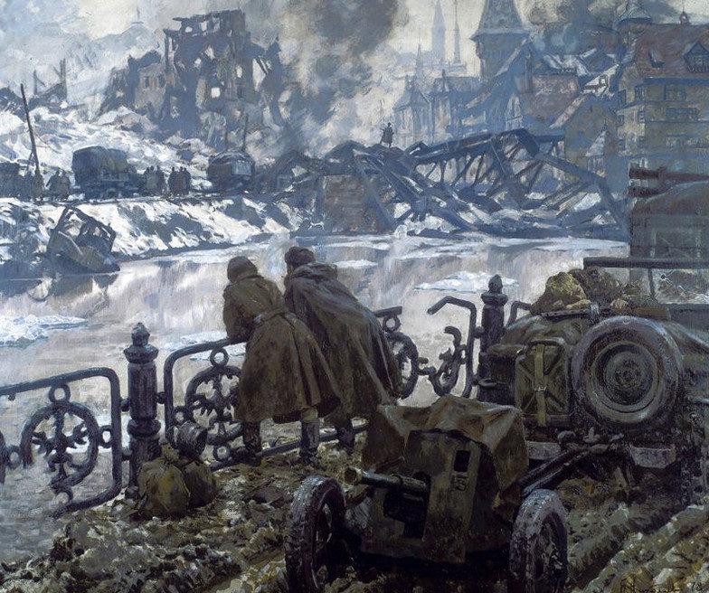 Николаев Борис. После боя.