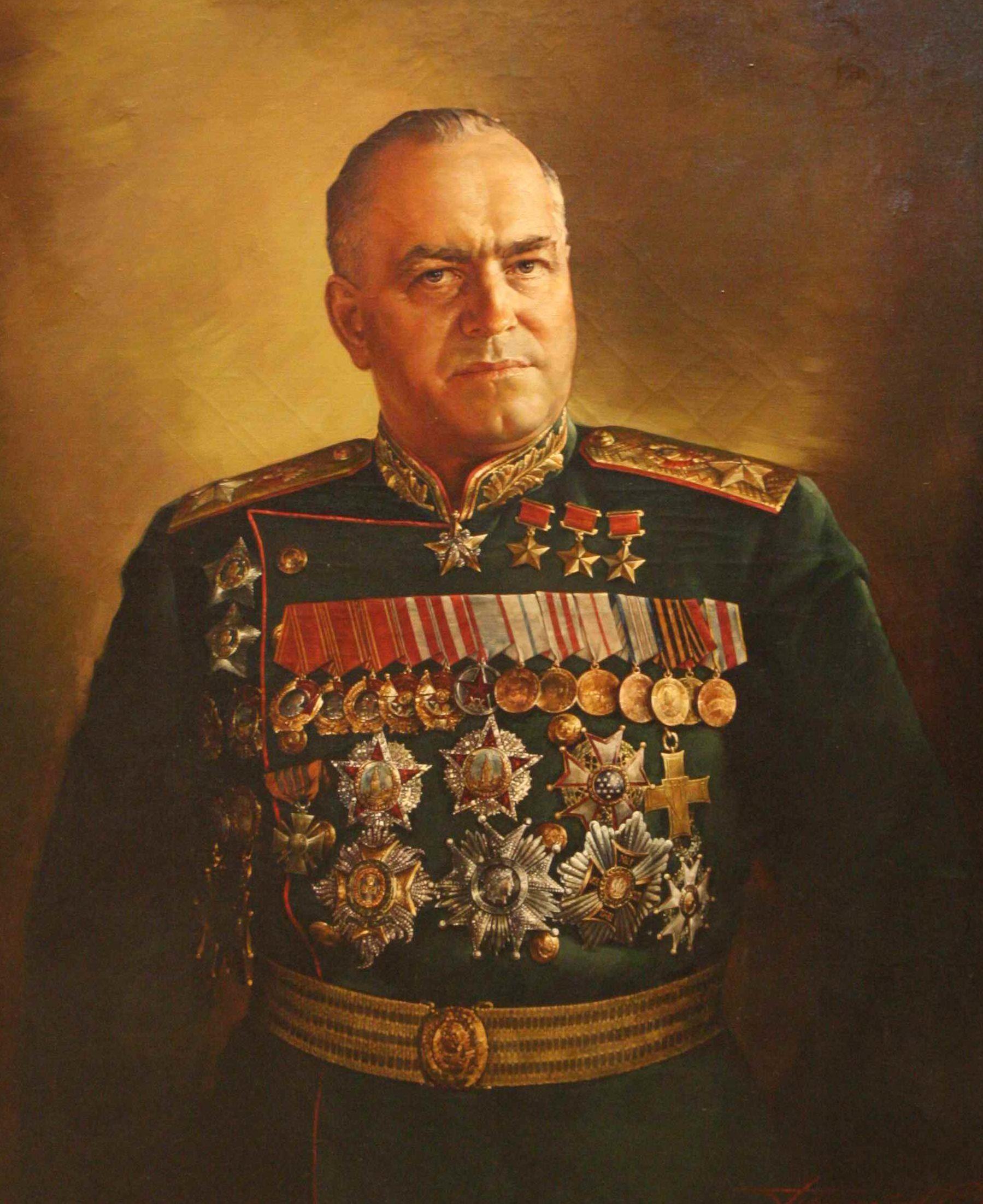 Присекин Николай. Маршал Жуков.