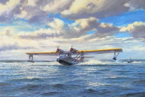 Cross Roy. Летающая лодка.