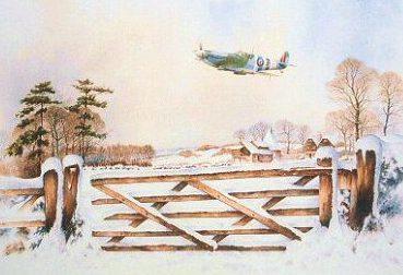 Murray Bob. Истребитель Spitfire MK.IX.