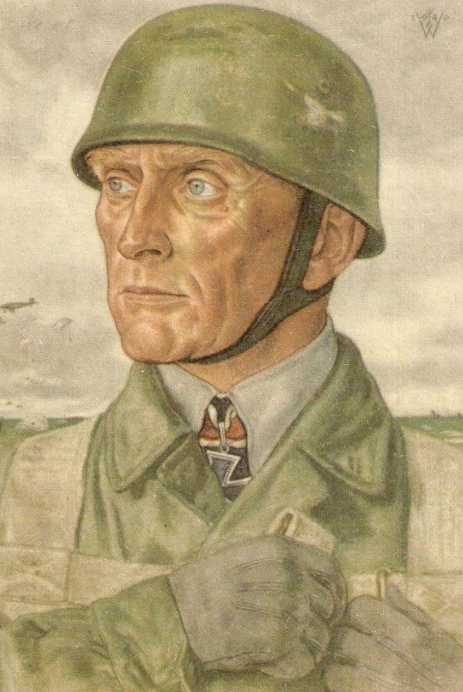 Willrich Wolfgang. Генерал воздушно-десантных войск Bruno Bräuer.
