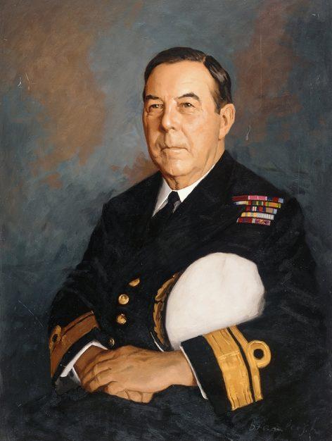 Bramleigh Rex. Контр-адмирал David Harries.